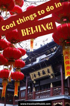 Some cool things to do in Beijing are to visit the classic highlights like Great Wall and Forbidden City. But the best things to do in Beijing include Beijing's off-othe-beaten-track attractions. Read about them here. Tokyo Japan Travel, Taiwan Travel, Bali Travel, India Travel, Usa Travel, Amazing Destinations, Travel Destinations, Travel Guides, Travel Tips