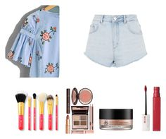 """Untitled #20"" by anssy ❤ liked on Polyvore featuring Topshop, Charlotte Tilbury, Arbonne and Maybelline"