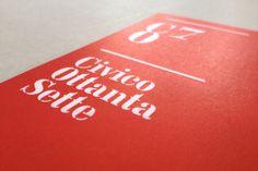 Civico 87 by Fil Marra, via Behance
