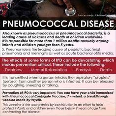 Pneumococcal Disease - Adult Vaccination