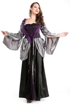 Black Elegant Queen Halloween #Witch Costume #2014 #Cute #Halloween #Costumes #Fashion #Women #Diy #Homemade Creative #Cheap #Sexy Halloween Costumes For Teens. pinkqueen.com
