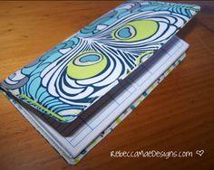 Simple Checkbook Cover Tutorial
