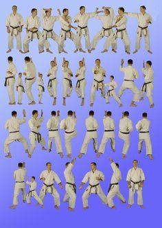 Pinan Shodan - jiriki karate club kata (Our dojo calls this the Pinan Nidan. This needs to be mastered for the green belt.)