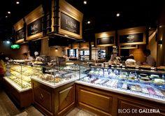 Dessert & Deli 코너입니다. 프랑스 디저트 전문 '오뗄두스' 및 미국 전통 레시피로 만든 '타르틴' 등 다양안 디저트 브랜드들이 들어와 있어요!