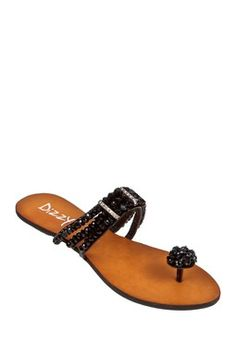 Dizzy Porsha Toe Ring Sandal