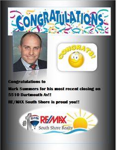 Congrats Mark Summers!