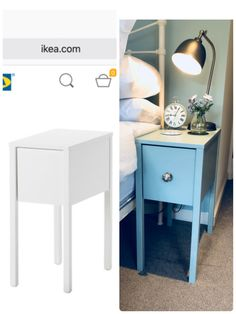 Ikea Nordli Nightstand Revamp MADE BY MONIQUE Back