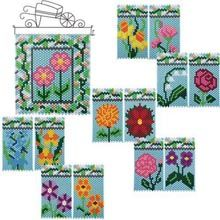 Flower of Month Beaded Banner Starter Kit + Inserts - Herrschners