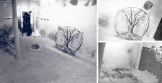 Rudolf Bone, Romanian artist - 'The Tree', 1989, installation, action, Sibiu http://www.plan-b.ro/index.php?/rudolf-bone/