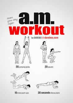 Morning Workout | Posted by: NewHowtoLoseBellyFat.com