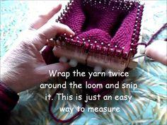 Basic Hat Knit Along on a Kiss modular loom
