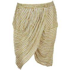 Antik Batik Salma Draped skirt