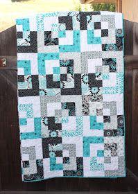 """Bento Box"" quilt made by Jewel, via The Intrepid Thread"