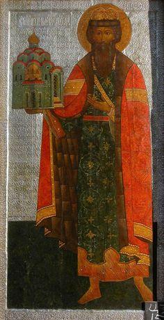 St Vsevolod (in holy baptism Gabriel) the Wonderworker of Pskov