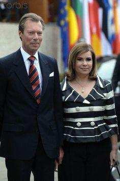 grand duc Henri du Luxembourg et grande duchesse marie Teresa du Luxembourg