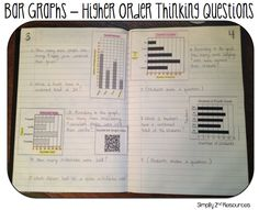 Simply 2nd Resources: Math Notebook - Bar Graphs