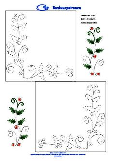 Christmas embroidery pattern                                                                                                                                                      More