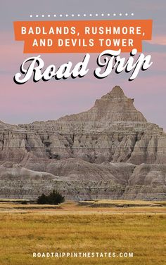 A weekend road trip to Badlands National Park, Mt Rushmore, and Devils Tower! Find the full itinerary on Road Trippin' The States.