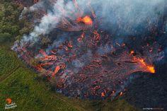 Kilauea's new eruption, Hawaii, May 2018. Extreme Exposure Fine Art Gallery