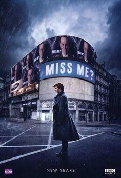 Miss me ? #Moriarty #Sherlock