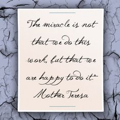 Mother Teresa #quote