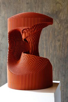 Cardboard Sculptures. Nurbs by Mauro Rubio - Flickr: Danfac