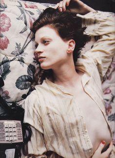 Kristen Mcmenamy by Mario Sorrenti, August 1993