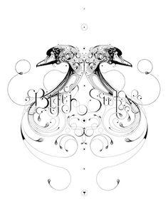 """Black Swan"" for Ink and Lyrics Exhibition by Scott Si Trees Drawing Tutorial, Si Scott, Image Symbols, Modern Indian Art, Swan Logo, Cyberpunk Art, Love Drawings, Digital Illustration, Illustration Pictures"