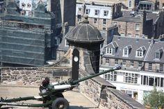 Graham O'Reilly  The One O'Clock Gun Edinburgh Castle - fired every day precisely allowing citizens check their clocks & watches Irish Culture, Edinburgh Castle, Dublin City, O Reilly, Archaeology, Graham, Clocks, Gun, Ireland