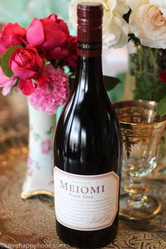 One of my favorite Pinot Noirs: Meomi #wine #PinotNoir #Meomi