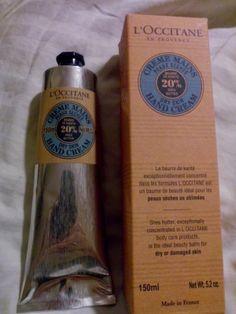 Las Coquettes: L'Occitane Shea Butter Hand Cream - Reseña