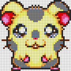 Oxnard Perler Bead Pattern / Bead Sprite