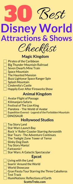 The 31 Best Disney World Rides and Shows in 2021 | Scott's Treks