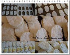 Jedlíkovo vaření: Domácí laskonky Czech Recipes, Baking Recipes, Food And Drink, Cheese, Cake, Sweet, Cooking Recipes, Candy, Food Cakes