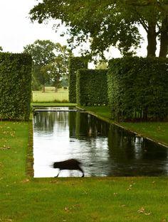 Dutch garden by Ronald Van Der Hilst.