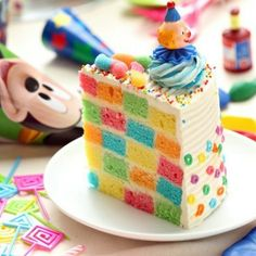 Great idea for a kids birthday cake
