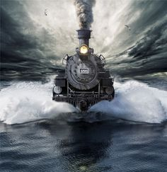 An awesome, yet in some ways terrifying, train.