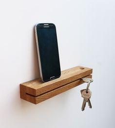 schlüsselHOLZ - Schlüsselbrett aus Eichenholz