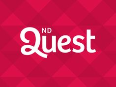2nd Quest by Roy Barber #wordmark #typography #logo #design #inspiration