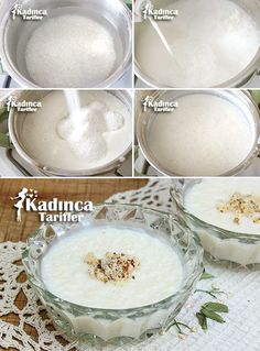 Starchy Mother Rice Pudding- Starchy Mother Rice Pudding St… – About Dessert World Pudding Recipes, Rice Recipes, Baby Food Recipes, Cooking Recipes, Recipe Mix, Middle Eastern Recipes, Turkish Recipes, Yummy Cakes, Kitchens