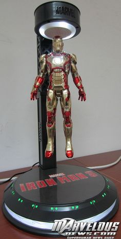Iron Man 3 Levitator Lamp - Iron Man 3 - MarvelousNews.com