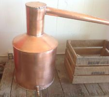 6gal copper pot still | 10 Gallon Copper Pot, Handmade USA Traditional Pot Still