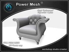 "- { POWER MESH } - Full Perm Chair ""Refinement"""