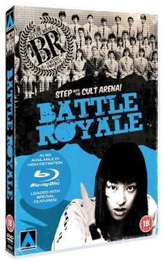 Battle Royale [DVD]: Amazon.co.uk: Takeshi 'Beat' Kitano, Taro Yamamoto, Masanobu Ando, Sôsuke Takaoka, Tatsuya Fujiwara, Hirohito Honda, Eri Ishikawa, Sayaka Ikeda, Tomomi Shimaki, Aki Maeda, Kou Shibasaki, Chiaki Kuriyama, Kinji Fukasuki, Masao Sato, Masumi Okada, Teruo Kamaya, Tetsu Kayama: Film & TV