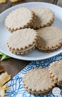 Maple Cream Sandwich Cookies - one of my favorite cookies!