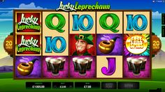 Lucky Leprechaun Online Slot Game - play at www.europalace-casino.com Pot Of Gold, Leprechaun, Games To Play, Slot