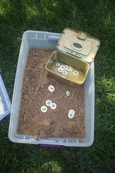Treasure Map Capital and Lowercase Letter Matching Activity