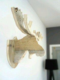 Минималистичный настенный декор из дерева | Банк ремонта