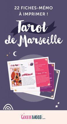 Imprimez ces 22 fiches sur la signification des cartes de Tarot de  Marseille 💗 6818ca1d5361