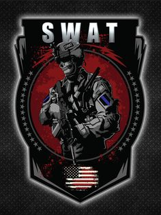 Police Swat Team Poster designed to motivate and inspire Swat Officers, Swat Teams and fans of Swat Units. Great police gift for swat officers and swat veterans. Swat Police, Police Officer Gifts, Police Gifts, Thin Blue Line Wallpaper, Special Forces Logo, Patriotic Pictures, Game Logo Design, Dog Poster, Green Beret